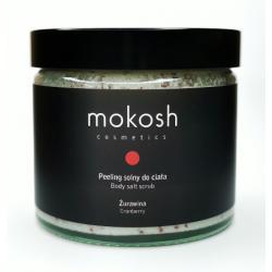 Peeling solny Żurawina - MOKOSH