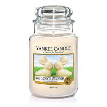 WHITE CHOCOLATE BUNNIES - ŚWIECA DUŻA YANKEE CANDLE