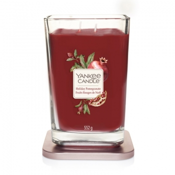 HOLIDAY POMEGRANATE - ŚWIECA DUŻA ELEVATION YANKEE CANDLE